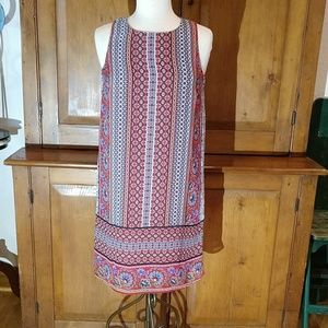 Tacera Floral Sleeveless Dress